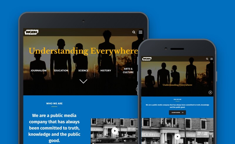 WGBH website