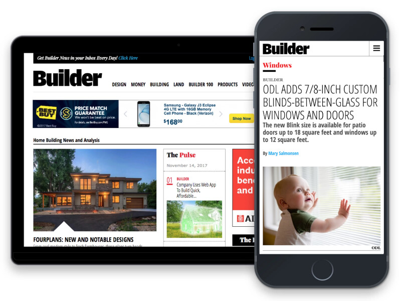 Zonda CMS case study: Builder Magazine