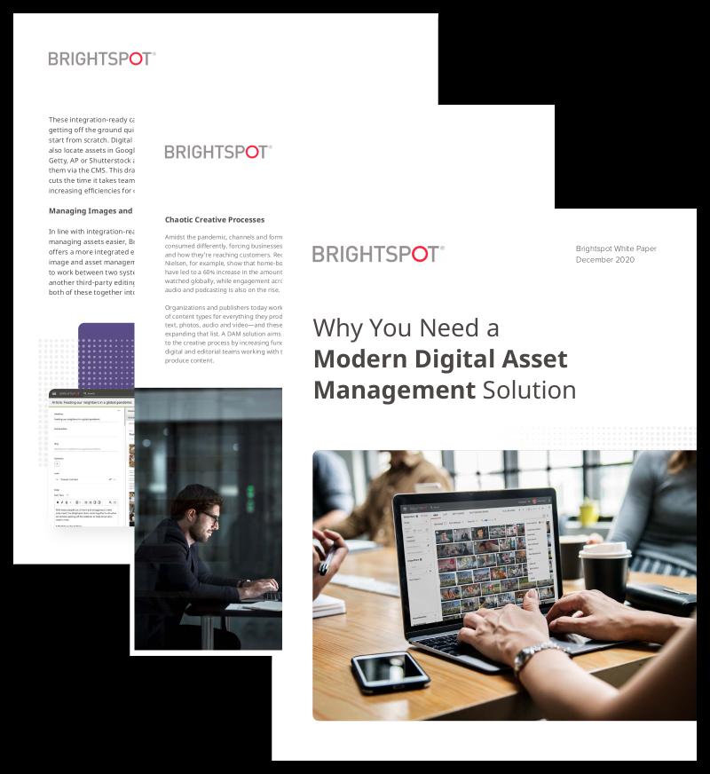 why modern digital asset management white paper promo