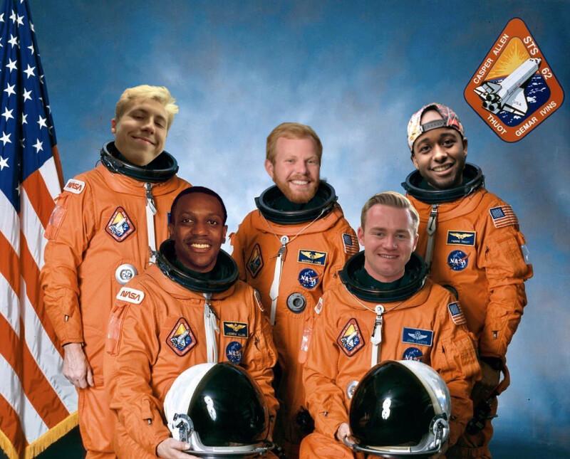 image of Brightspot Space Race participants