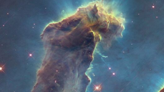 Hubble Captures New Views of the Pillars of Creation