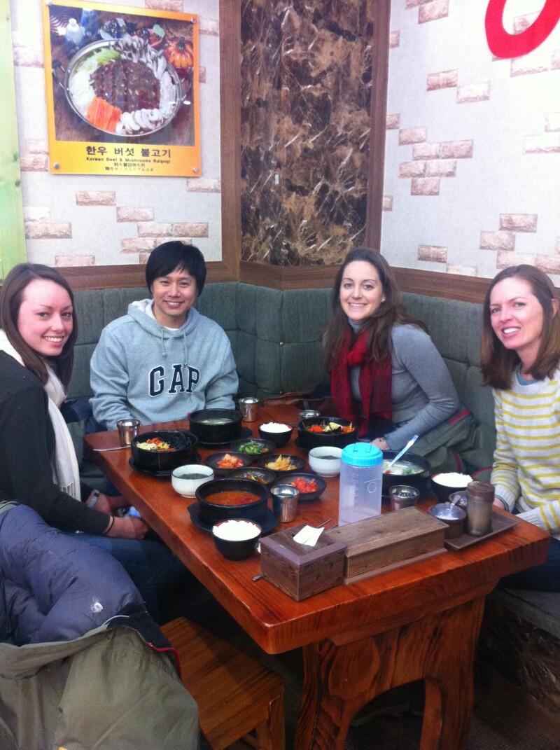 Korea 2013 - Lunch