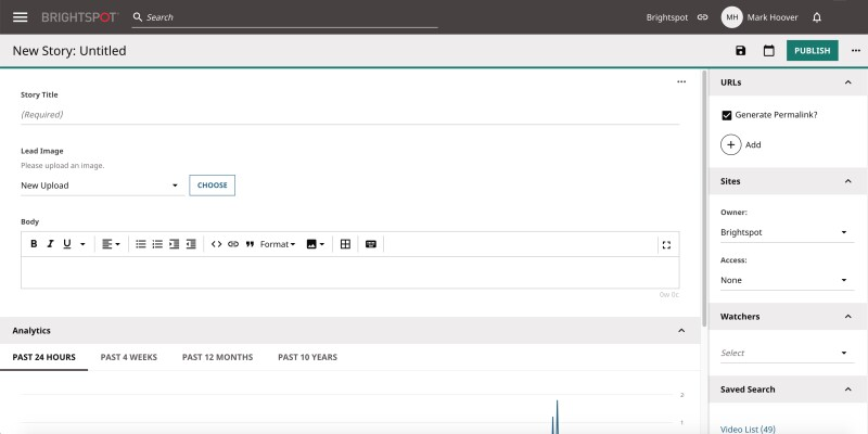 Screenshot: How to build your own content types with Brightspot GO