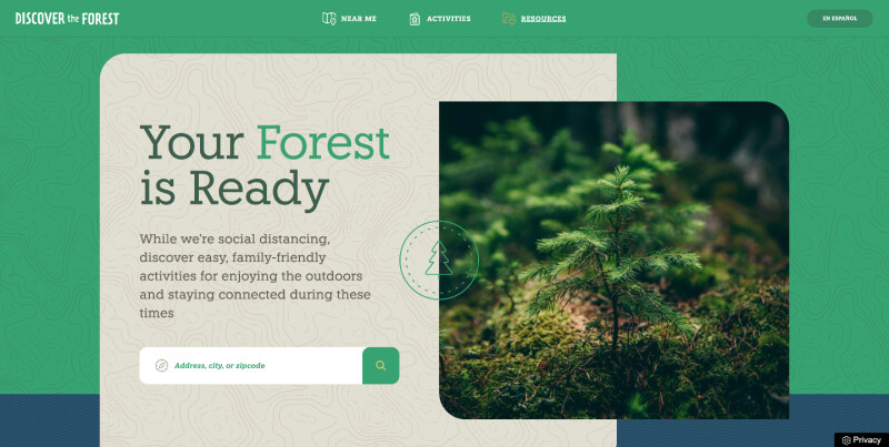 Image showcasing how Brightspot-powered microsites get real results