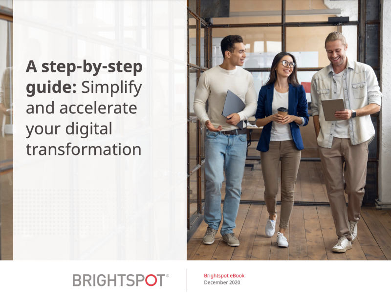 How to Simplify and Accelerate Your Digital Transformation Journey eBook promo
