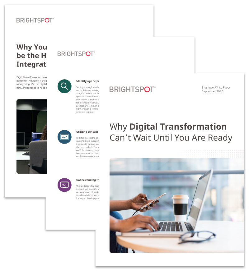 Why Digital Transformation Can't Wait Until You Are Ready promo image