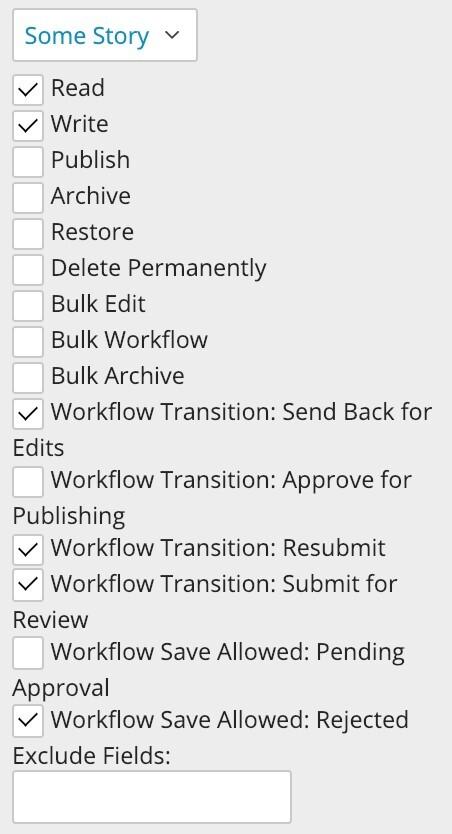 Brightspot 3.0 workflow transitions