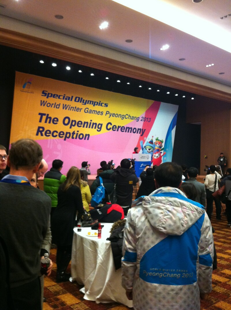Korea 2013 - Opening Ceremony Reception
