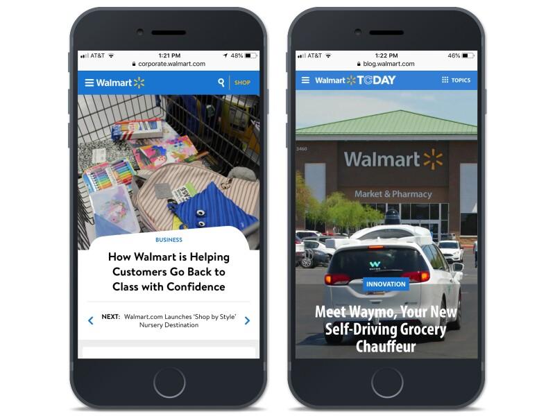 Walmart Customer Example