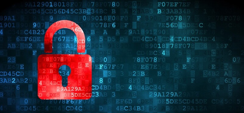 CMS security padlock graphic